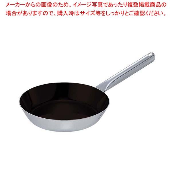 【まとめ買い10個セット品】 EBM モリブデンジIIプラス フライパン 18cm ノンスティック加工【 IH・ガス兼用鍋 】