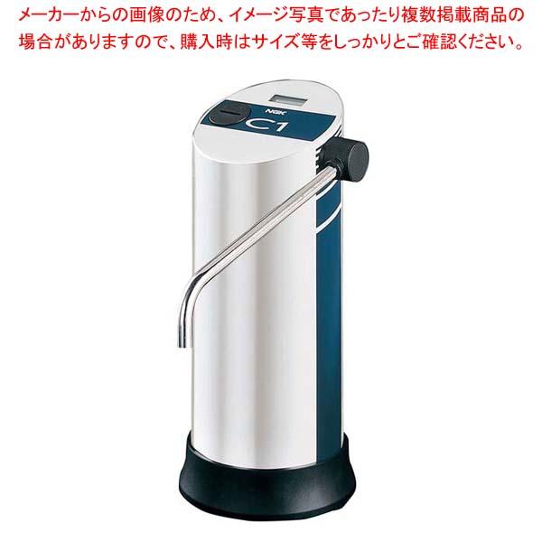 ファインセラミック 浄水器 C-1 ブルー CW-101【 棚・作業台 】