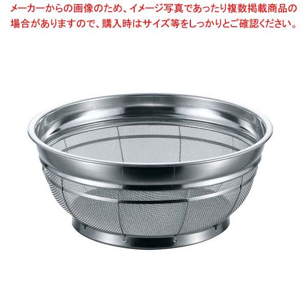 【まとめ買い10個セット品】 BK 18-8 F型ザル 荒目 30cm 6.5メッシュ【 水切り・ザル 】