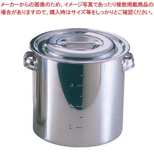 【まとめ買い10個セット品】 EBM 18-8 キッチンポット/寸胴鍋(目盛付)22cm 板手付【 ガス専用鍋 】