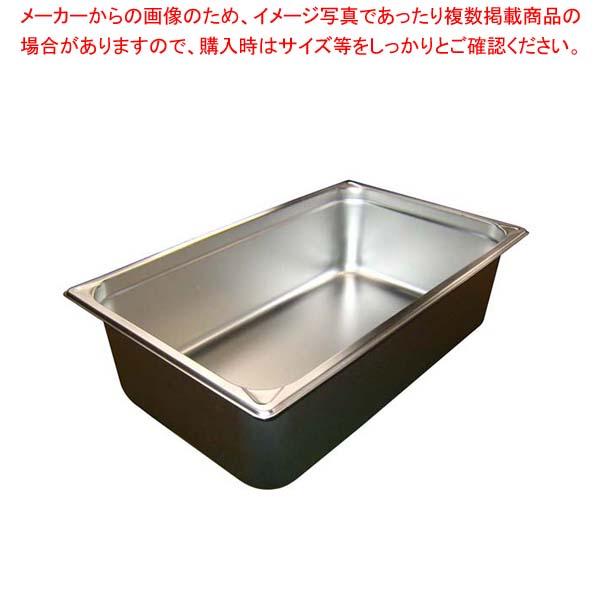 【まとめ買い10個セット品】 EBM ホテルパン補強重なり防止付 1/1 150mm 2006