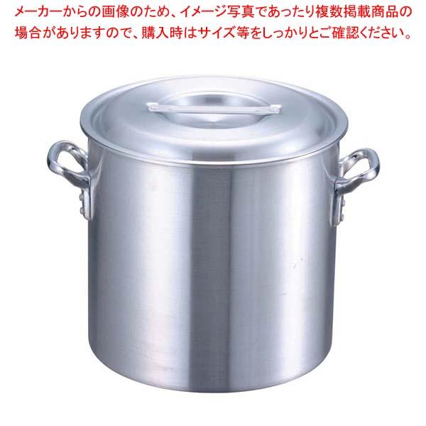 【まとめ買い10個セット品】 EBM アルミ プロシェフ 寸胴鍋(目盛付)48cm【 ガス専用鍋 】