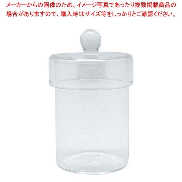 【まとめ買い10個セット品】 ガラスフタ付きキャニスター M A5218【 ストックポット・保存容器 】