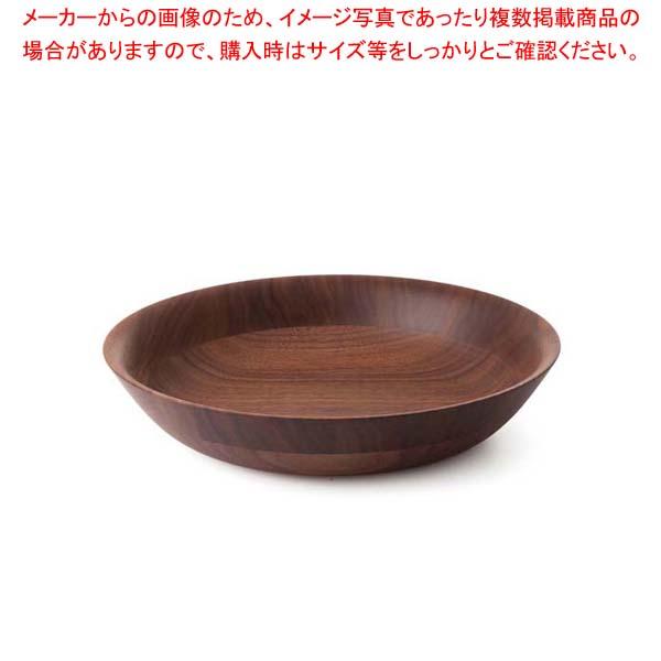 【まとめ買い10個セット品】 ひきよせ ディッシュLL(2段LL)ウォールナット 130143【 和・洋・中 食器 】