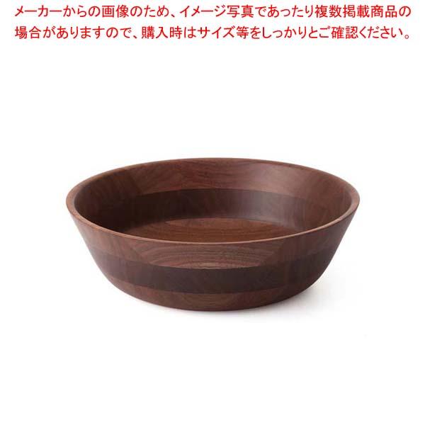 ひきよせ ボールLL(3段LL)ウォールナット 130144【 和・洋・中 食器 】