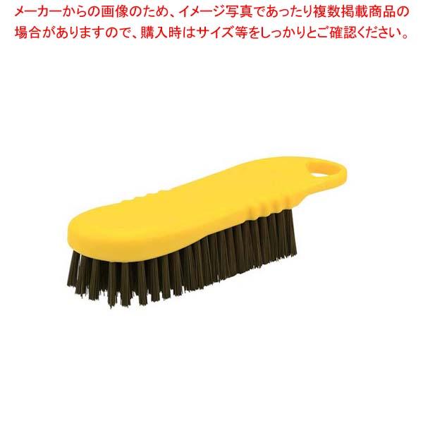 【まとめ買い10個セット品】 HPMハンド磁性ブラシ L イエロー 57043【 清掃・衛生用品 】