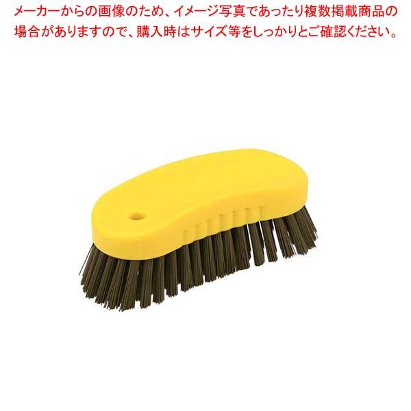 【まとめ買い10個セット品】 HPMハンド磁性ブラシ S イエロー 57033【 清掃・衛生用品 】