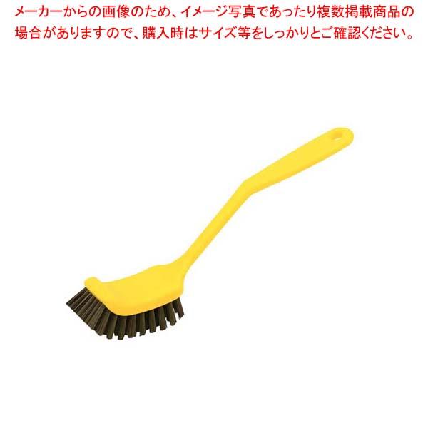 【まとめ買い10個セット品】 HPMディッシュ磁性ブラシ ワイド イエロー 57023【 清掃・衛生用品 】
