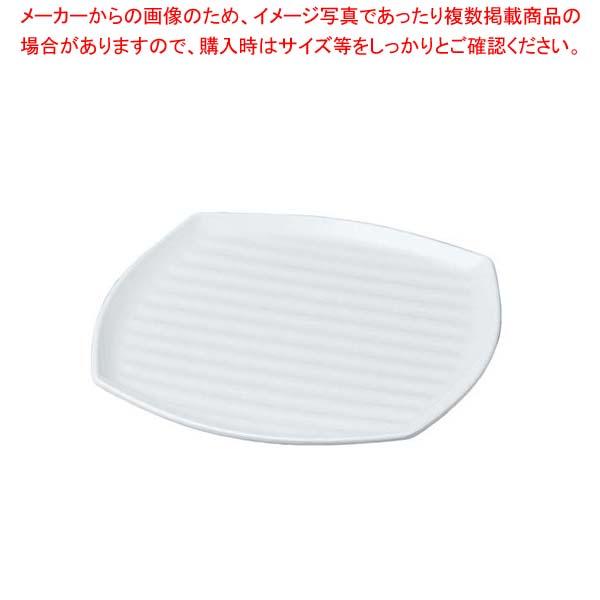 【まとめ買い10個セット品】 ニューホワイト くつわ型プレート 35cm【 和・洋・中 食器 】
