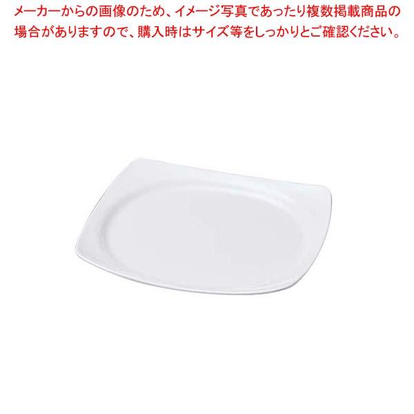【まとめ買い10個セット品】 ニューホワイト 渕丸長角盛皿 28cm【 和・洋・中 食器 】