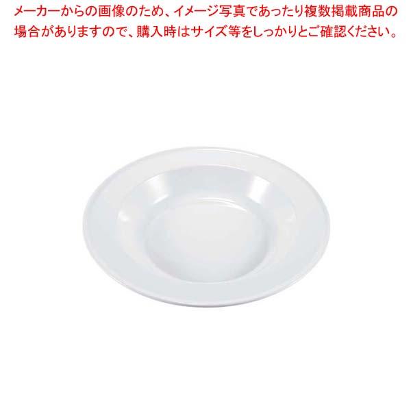 【まとめ買い10個セット品】 メラミン 丸型フードパン 36cm TKO-136W 白【 ビュッフェ関連 】