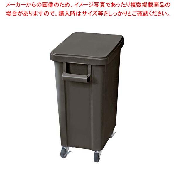 【まとめ買い10個セット品】 リス 厨房用キャスターペール(排水栓付)70L ダークグレー(DGY)【 清掃・衛生用品 】