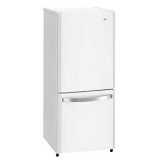 ハイアール ファン式2ドア冷凍冷蔵庫 ノンフロン JR-NF140K(W)【 メーカー直送/代金引換決済不可 】