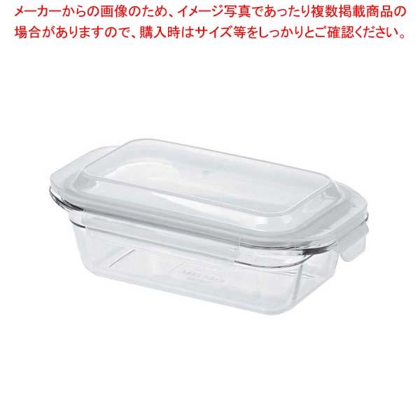 【まとめ買い10個セット品】 グラスロック パウンド型 GL0302【 ストックポット・保存容器 】