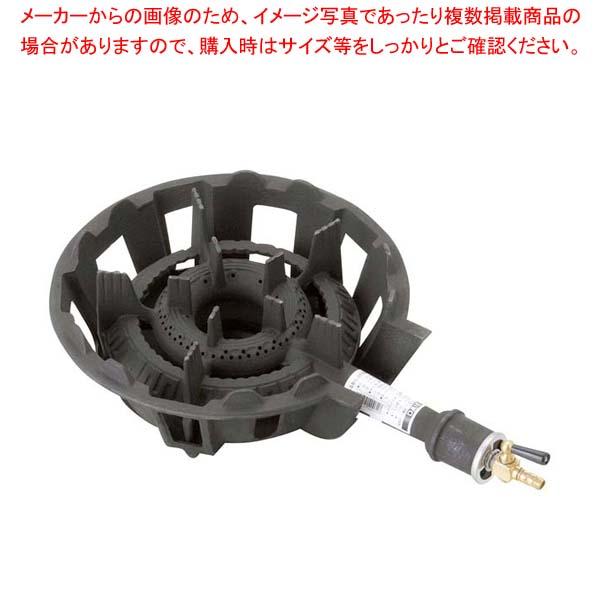 【まとめ買い10個セット品】 ガスコンロ 1重中型(4号)DEJ-14SL LP【 電気・ガスコンロ 】