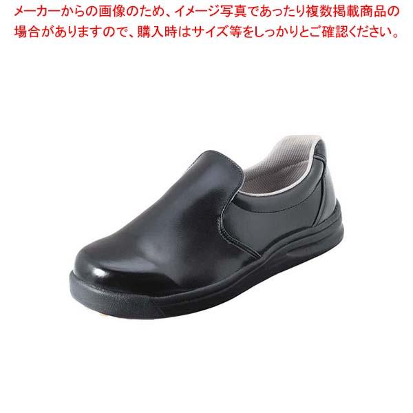 【まとめ買い10個セット品】 ノサックス 厨房靴 グリップキング 黒 GKW-B 25cm【 ユニフォーム 】
