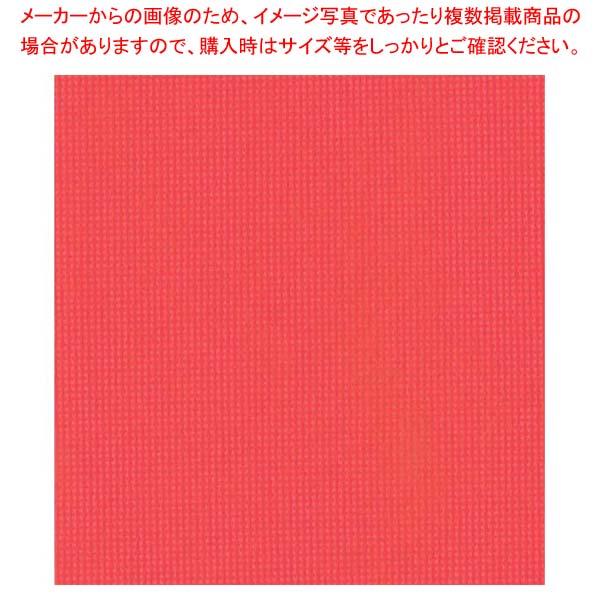 【まとめ買い10個セット品】 オリビア テーブルクロス シート 1000×1000(10枚入)ピュアレッド【 店舗備品・インテリア 】