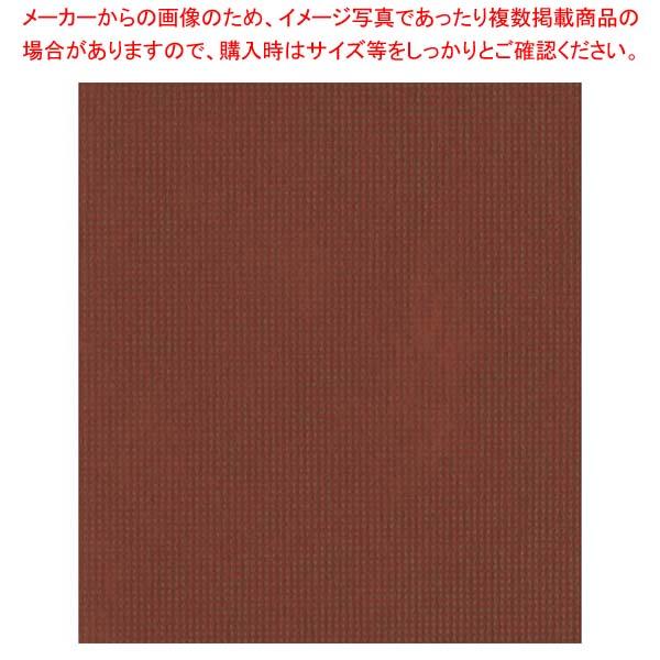 【まとめ買い10個セット品】 オリビア テーブルクロス シート 1000×1000(10枚入)ブラウン【 店舗備品・インテリア 】