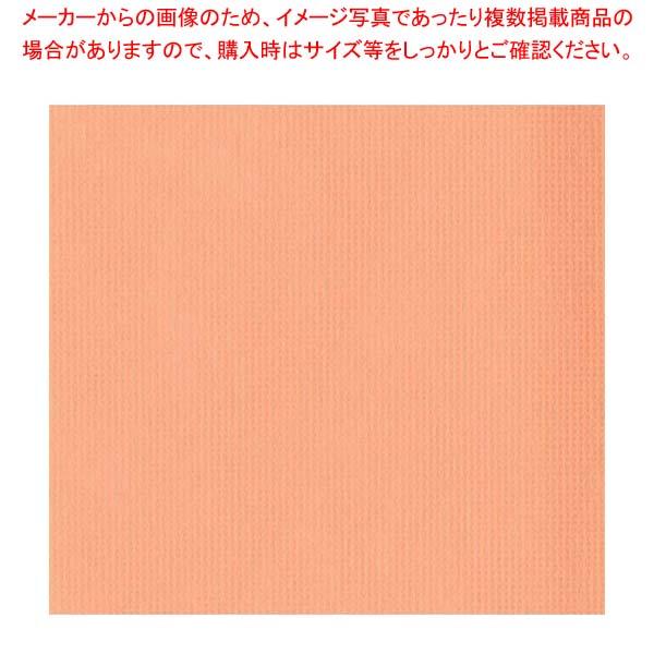 【まとめ買い10個セット品】 オリビア テーブルクロス シート 1500×1500(10枚入)オレンジ【 店舗備品・インテリア 】