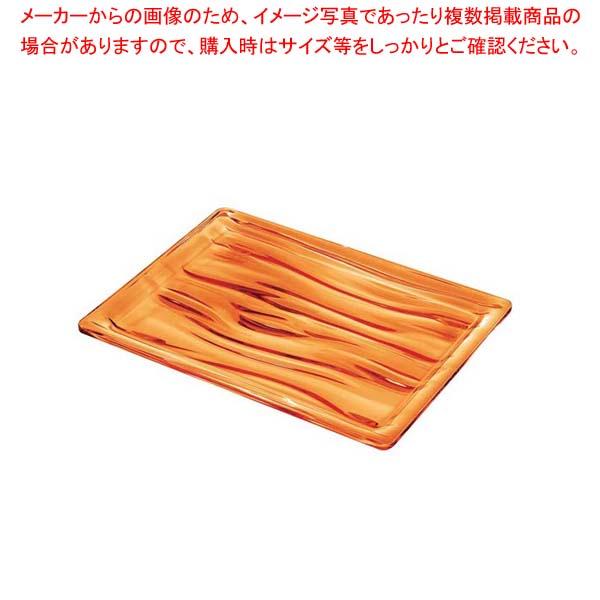 【まとめ買い10個セット品】 グッチーニ アクア トレーLL 201702 45オレンジ 【 オーブンウェア 】