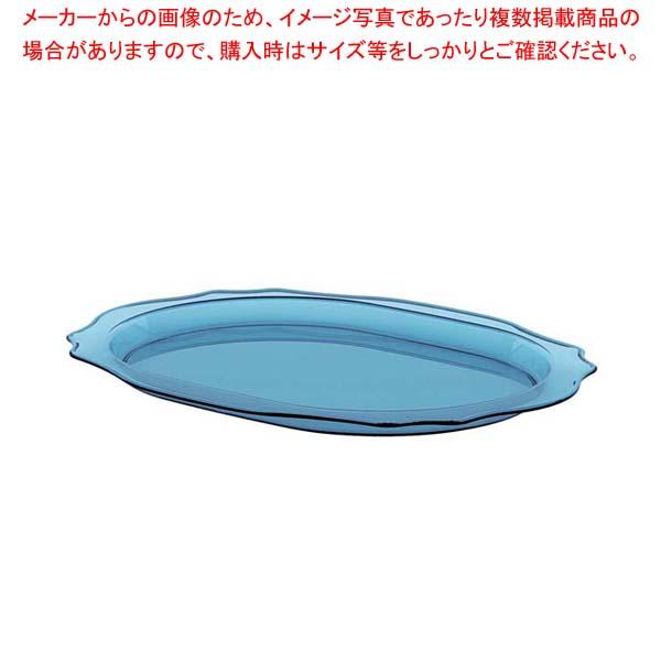 【まとめ買い10個セット品】 グッチーニ ベルエポック トレーL 289900 81ライトブルー【 オーブンウェア 】