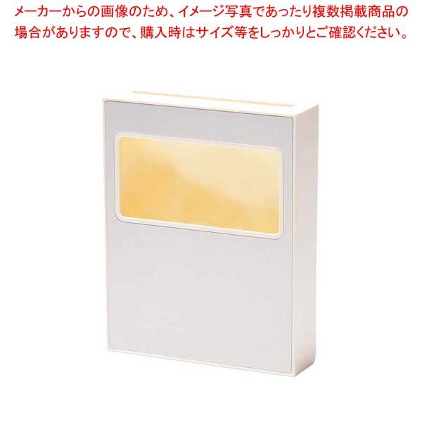 【まとめ買い10個セット品】 エルシート 専用ボックス ステンフェイスアイボリー 【 清掃·衛生用品 】