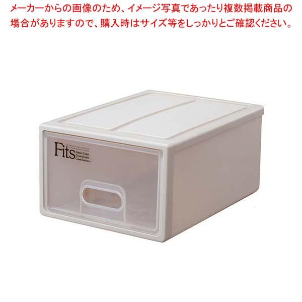【まとめ買い10個セット品】 フィッツ リビング収納ケース S CAP(カプチーノ)【 棚・作業台 】