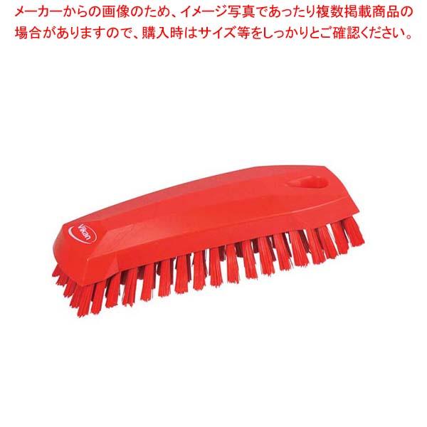 【まとめ買い10個セット品】 ヴァイカン ハンドブラシ ソフトタイプ 35874(レッド)【 清掃・衛生用品 】