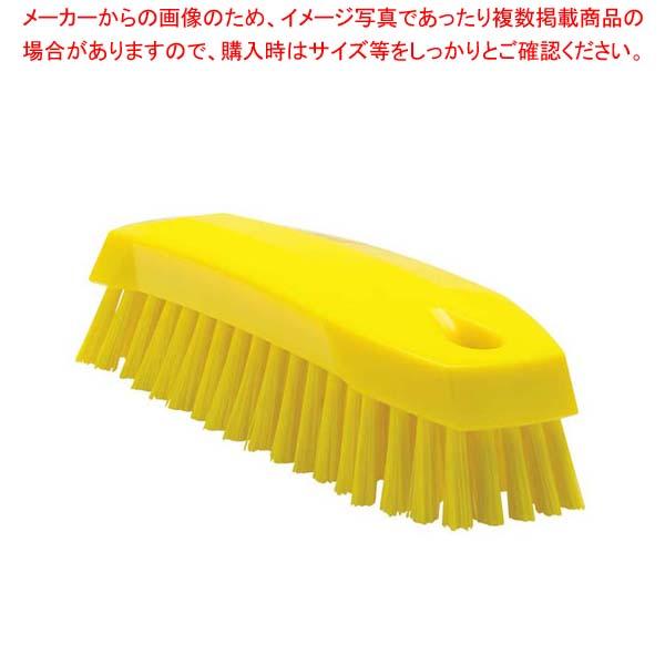 【まとめ買い10個セット品】 ヴァイカン ハンドブラシ ソフトタイプ 35876(イエロー)【 清掃・衛生用品 】