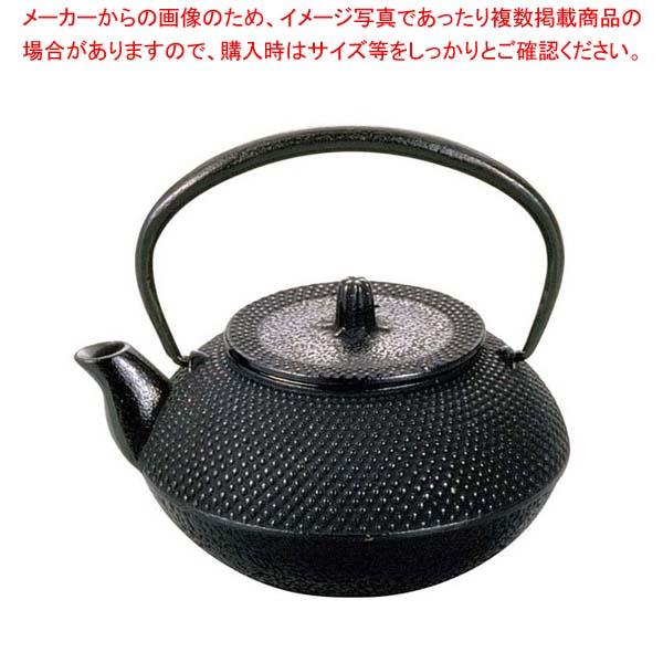 アサヒ 鉄 急須 丸アラレ 0.8L