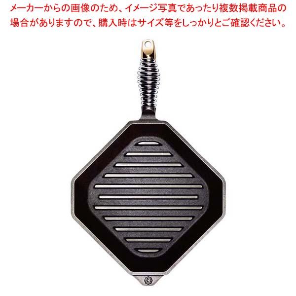 【まとめ買い10個セット品】 フィネックス キャストアイアン グリルパン 10インチ G10-10001(蓋無)
