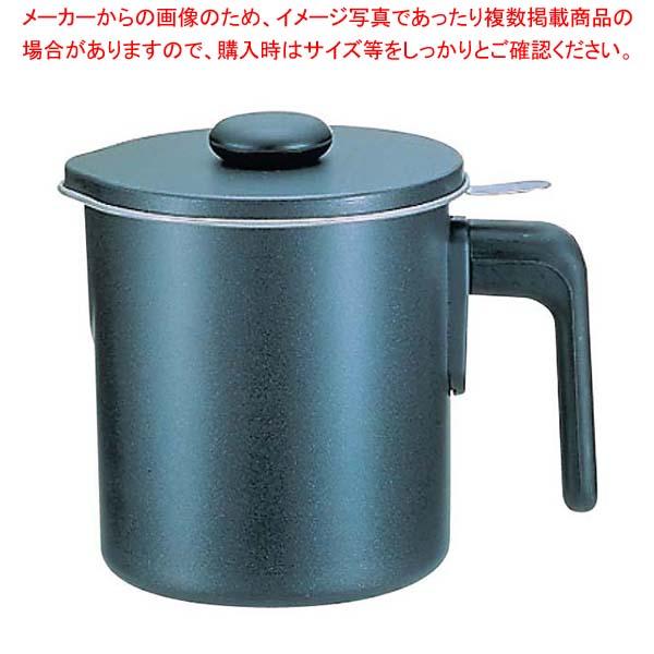 ブラックフィギュア オイルポット(シルバーストーン加工)D-047 1.2L
