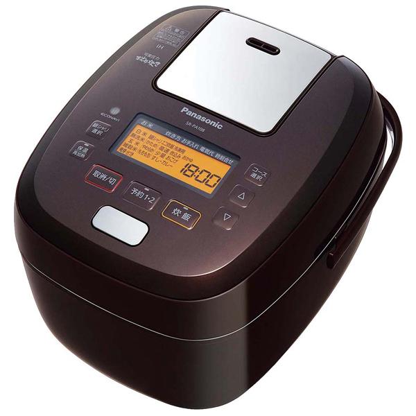 パナソニック 可変圧力IHジャー炊飯器 SR-PA188-T炊飯器・スープジャー
