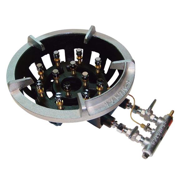 eb-0829230 サントク 人気激安 超特価 ガスコンロ本体丈 TG型 TG-12 ガスコンロ 6B電気