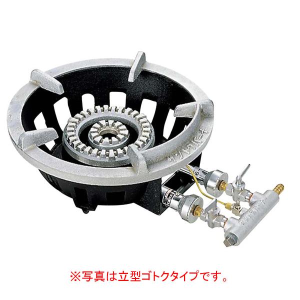 サントク フラッシュガスコンロ 平型ゴトクタイプ FG-2 6B電気・ガスコンロ