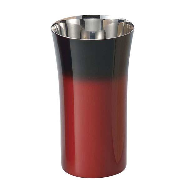 漆磨 シングルカップS 240ml 赤彩 SCS-S602グラス・酒器
