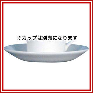 【まとめ買い10個セット品】 W・W ホワイトコノート デミタスソーサー デルフィ 53610004966