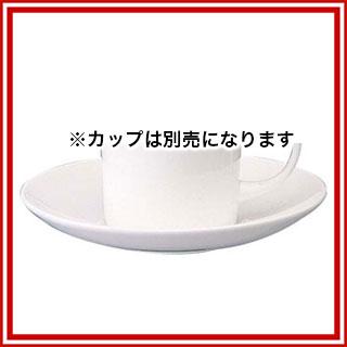 【まとめ買い10個セット品】 W・W ホワイトコノート コーヒーソーサー キャン 53610003576