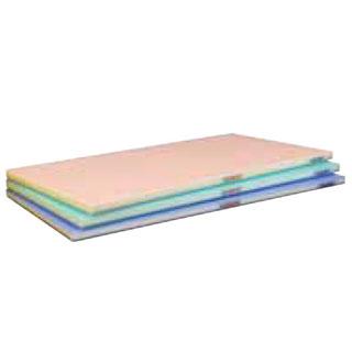 【まとめ買い10個セット品】抗菌ポリエチレン全面カラーかるがるまな板 410×230×H18mm 青