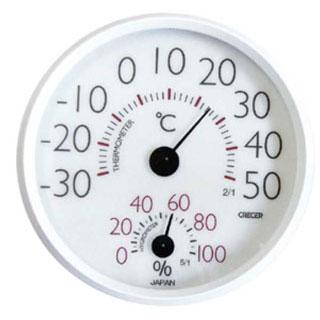 【まとめ買い10個セット品】【 温湿度計 CR-152 】【 厨房器具 製菓道具 おしゃれ 飲食店 】