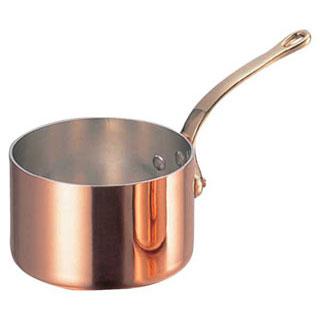 【まとめ買い10個セット品】【 銅極厚鍋深型 真鍮柄 18cm 】 【 厨房器具 製菓道具 おしゃれ 飲食店 】