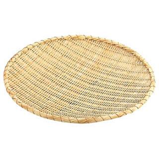 【まとめ買い10個セット品】竹製ためざる 45cm