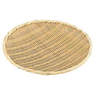 【まとめ買い10個セット品】【ざる 竹 45cm】竹製盆ザル 45cm