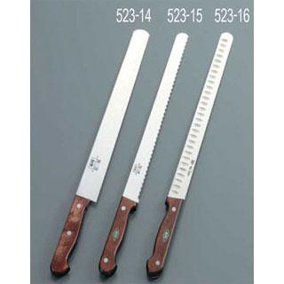 【まとめ買い10個セット品】堺刀司 カステラ庖丁 36cm