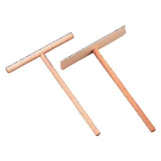 【まとめ買い10個セット品】クレープ用トンボ 角