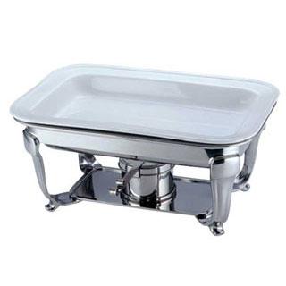 【 角チューフィング用陶器 フードパン 16インチ[ツバ付] 】 【 厨房器具 製菓道具 おしゃれ 飲食店 】