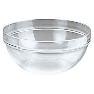 【まとめ買い10個セット品】【 強化ガラスボール 17cm 】【 厨房器具 製菓道具 おしゃれ 飲食店 】