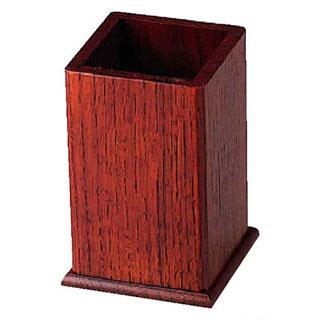【まとめ買い10個セット品】木製角型箸立 (ハイブラウン), コスモスストア:98c7f222 --- kutter.pl