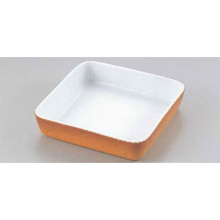 【まとめ買い10個セット品】【 正角グラタン皿 カラー PC600-25 】【 厨房器具 製菓道具 おしゃれ 飲食店 】