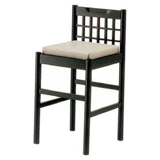 【 椅子 黒 9-137-4 】 【 厨房器具 製菓道具 おしゃれ 飲食店 】